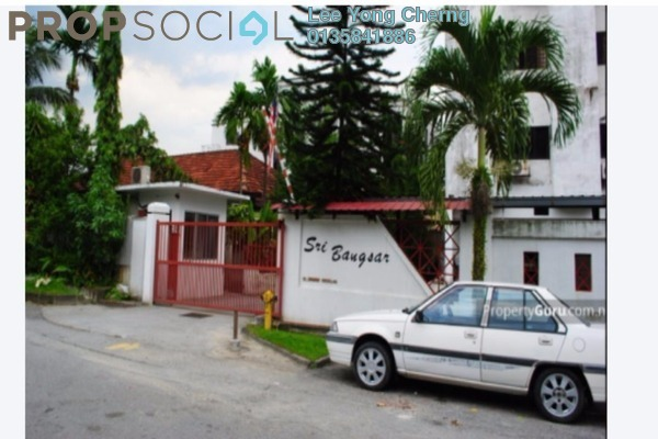 For Rent Apartment at Sri Bangsar Apartment, Bangsar Freehold Fully Furnished 2R/2B 2.5k