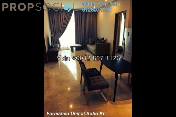 For Sale Serviced Residence at Soho Suites, KLCC Freehold Unfurnished 0R/0B 845k