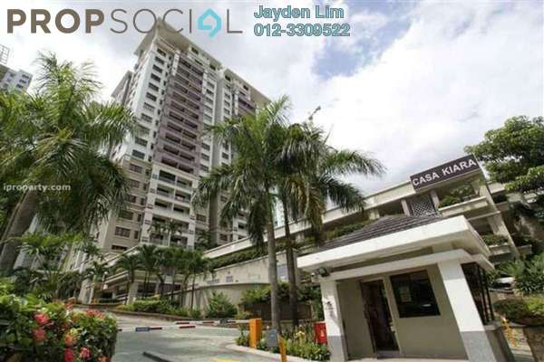 For Sale Condominium at Casa Kiara I, Mont Kiara Freehold Semi Furnished 3R/3B 880k