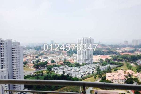 For Sale Condominium at Plaza Ivory, Bukit Gambier Freehold Semi Furnished 3R/2B 580.0千