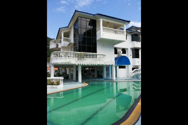 For Sale Bungalow at Asia Hills, Bukit Jambul Leasehold Semi Furnished 9R/8B 5.5m