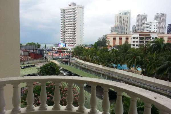 For Rent Condominium at Grand View, Tanjung Tokong Leasehold Semi Furnished 3R/2B 1.8k