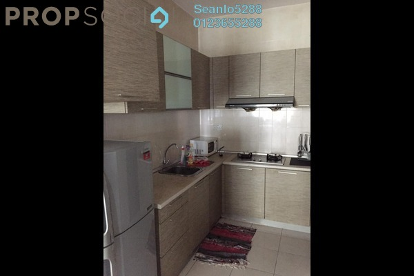For Rent Serviced Residence at Casa Tiara, Subang Jaya Freehold Semi Furnished 3R/2B 1.6k