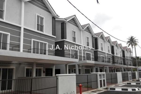 For Sale Terrace at Novus Park, Balik Pulau Freehold Unfurnished 5R/5B 680k