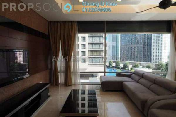 For Rent Condominium at Pavilion Residences, Bukit Bintang Leasehold Semi Furnished 3R/4B 11k