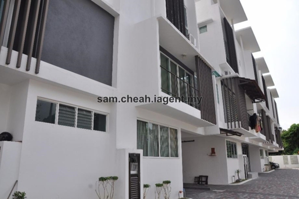 For Sale Terrace at Quattro Zen, Air Itam Freehold Unfurnished 4R/4B 1.2m