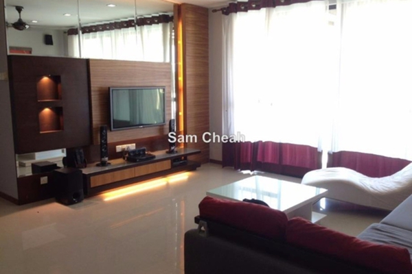 For Sale Condominium at Scotland Villas, Georgetown Leasehold Semi Furnished 4R/4B 1.65m