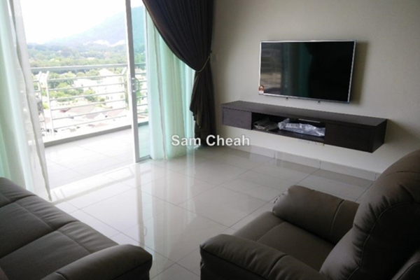 For Rent Condominium at The Cantonment, Pulau Tikus Leasehold Semi Furnished 2R/2B 3.5k