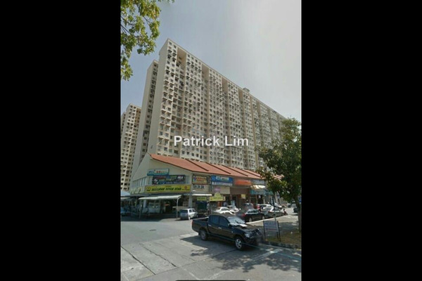 For Sale Apartment at Sri Saujana Apartment, Georgetown Leasehold Unfurnished 3R/2B 238k