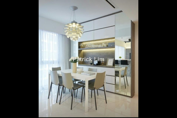 For Sale Condominium at Central Park, Green Lane Leasehold Unfurnished 4R/4B 1.2m