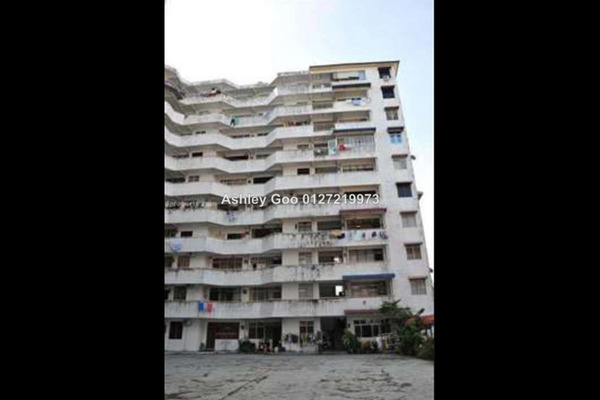 For Sale Apartment at Medan Ria, Georgetown Leasehold Unfurnished 3R/2B 390k