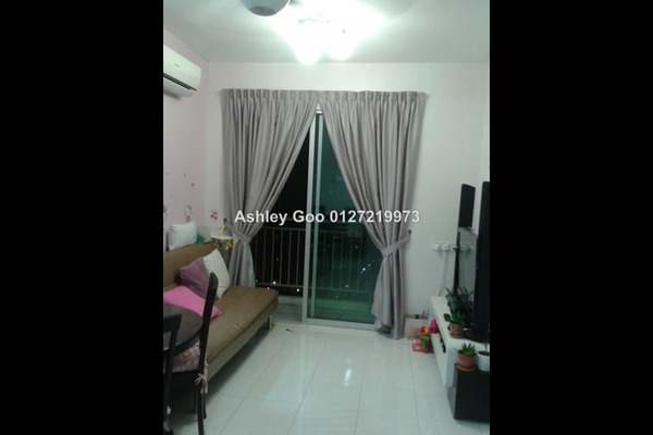 For Sale Apartment at Damai Vista, Green Lane Leasehold Unfurnished 3R/2B 420k