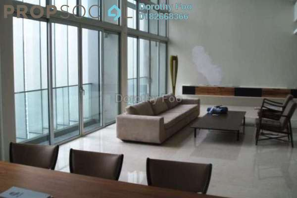 For Rent Condominium at Dua Residency, KLCC Freehold Semi Furnished 6R/4B 18k