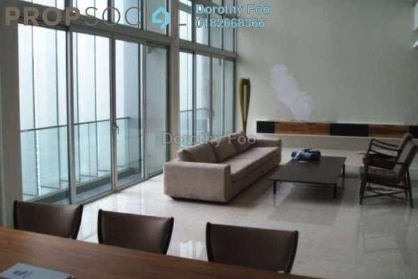 For Rent Condominium at Dua Residency, KLCC Freehold Semi Furnished 6R/4B 18k