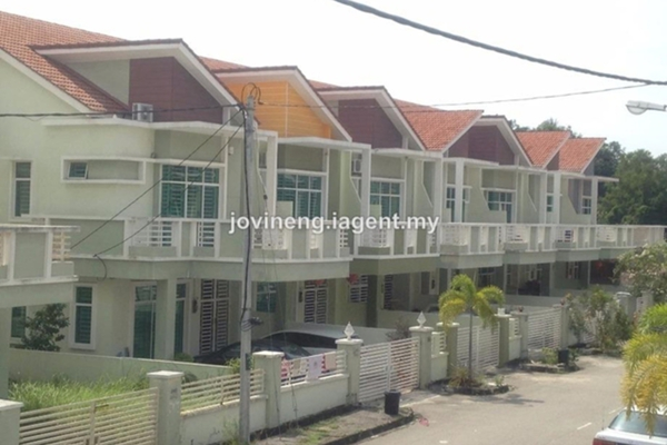 For Sale Terrace at Taman Cendana, Juru Freehold Unfurnished 4R/3B 500k