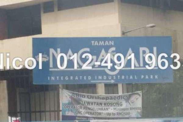 For Sale Factory at Taman Nagasari, Perai Leasehold Unfurnished 0R/4B 750k
