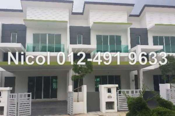 For Sale Terrace at Machang Bubok, Bukit Mertajam Freehold Unfurnished 4R/3B 470k
