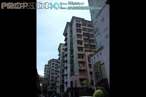 For Sale Condominium at Ixora Apartment, Pudu Leasehold Unfurnished 3R/2B 365k