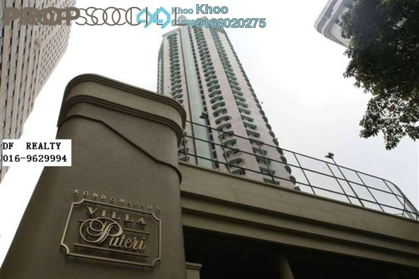 For Sale Condominium at Villa Puteri, Putra Freehold Fully Furnished 3R/2B 600k