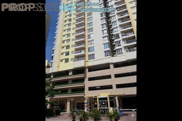 For Sale Condominium at Platinum Lake PV15, Setapak Leasehold Unfurnished 4R/4B 500k