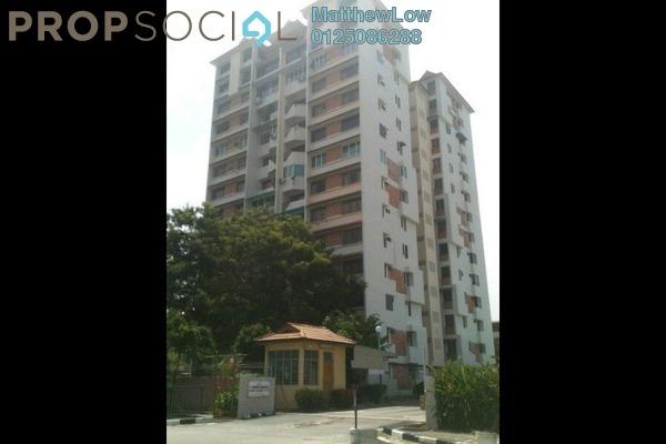 For Sale Condominium at Seri Nibung, Bukit Jambul Freehold Semi Furnished 3R/2B 345k