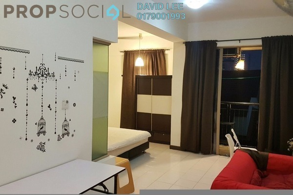 For Sale SoHo/Studio at Ritze Perdana 1, Damansara Perdana Leasehold Fully Furnished 1R/1B 290k