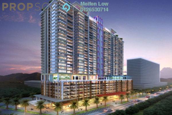 For Rent Condominium at MH Platinum Residency, Setapak Freehold Semi Furnished 3R/2B 1.8k