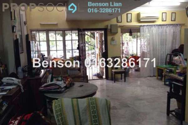 For Sale Terrace at USJ 11, UEP Subang Jaya Freehold Semi Furnished 4R/3B 908k