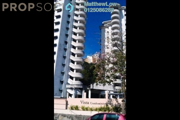 For Rent Condominium at Vista Condominium, Relau Freehold Fully Furnished 3R/2B 1k