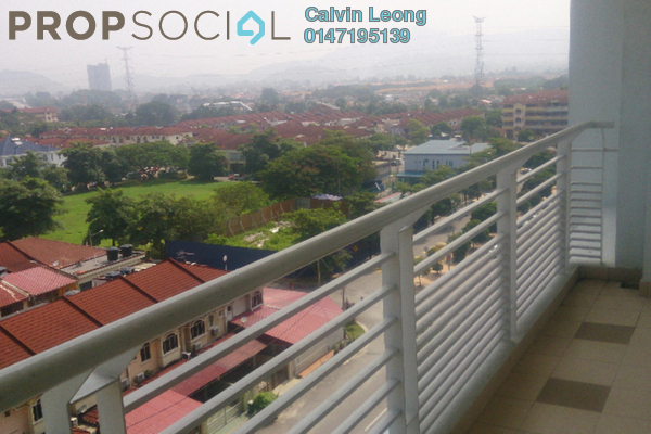 For Sale Condominium at Panorama Residences, Sentul Freehold Semi Furnished 3R/2B 535k
