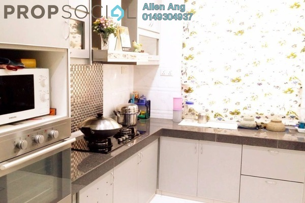 For Sale Terrace at Canting, Alam Impian Freehold Semi Furnished 4R/4B 810k
