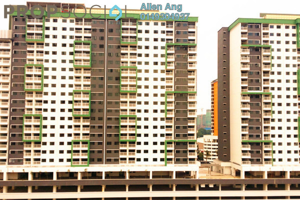 For Rent Condominium at Alam Sanjung, Shah Alam Freehold Semi Furnished 3R/2B 1.2k