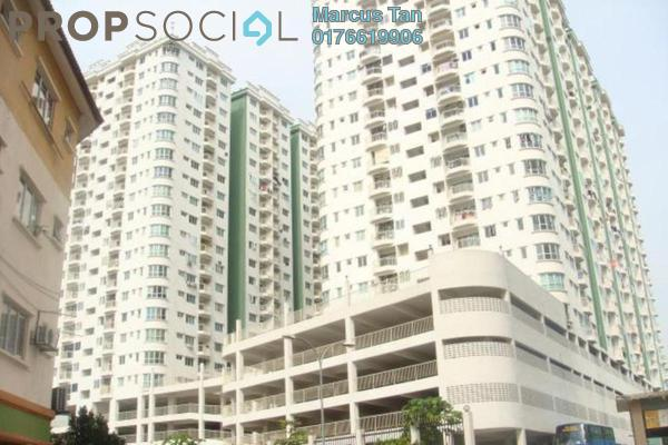 For Sale Condominium at Kepong Central Condominium, Kepong Leasehold Fully Furnished 3R/2B 270k