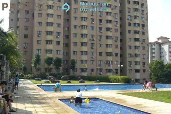 For Rent Apartment at Desa Dua, Kepong Freehold Semi Furnished 3R/2B 1k
