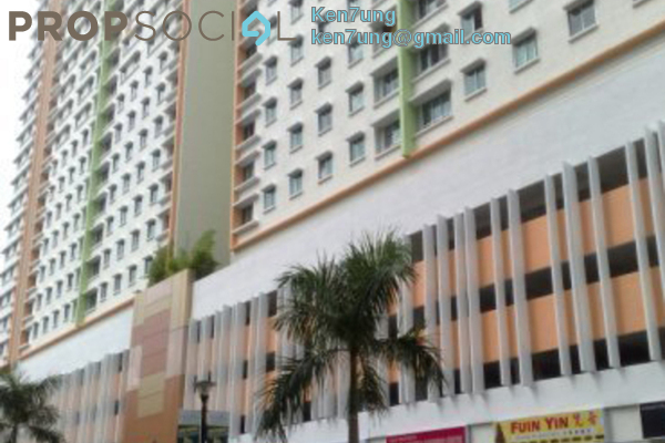 For Rent Apartment at Harmony View, Jelutong Freehold Semi Furnished 3R/2B 1.2k