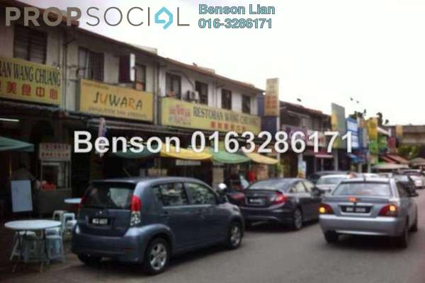 For Rent Shop at Desa Setapak, Setapak Freehold Semi Furnished 0R/0B 9k
