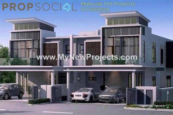 For Sale Semi-Detached at Embun Residence @ Taman Puncak Saujana, Kajang Freehold Semi Furnished 5R/6B 1.59m