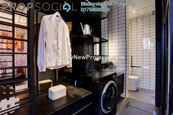 For Sale SoHo/Studio at Flexus Signature Suites, Segambut Freehold Semi Furnished 1R/1B 450k