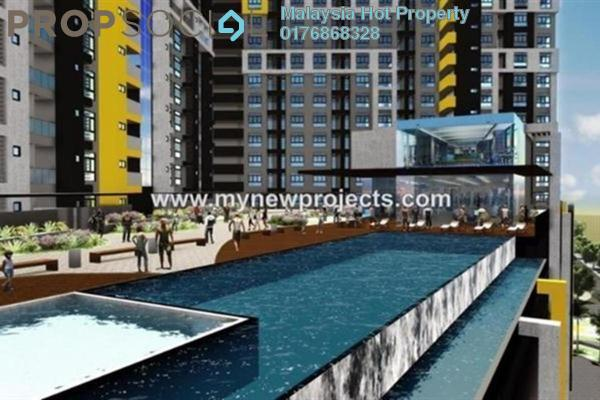 For Sale Condominium at Silk Sky, Balakong Freehold Unfurnished 3R/2B 440k