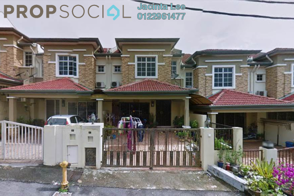 For Sale Terrace at Taman Perkasa, Hulu Langat Freehold Unfurnished 4R/3B 368k