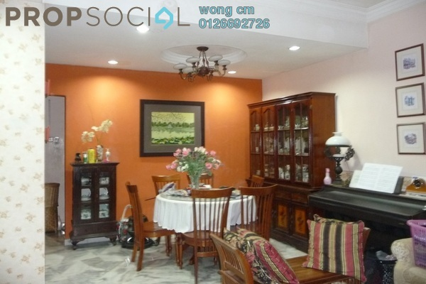 For Sale Terrace at Taman Bukit Angsana, Cheras South Leasehold Semi Furnished 5R/3B 570k