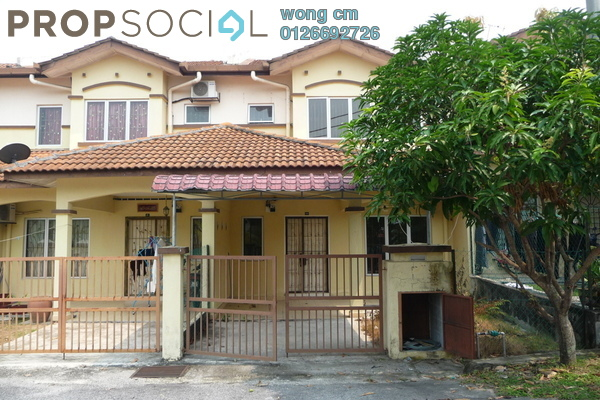 For Sale Terrace at Taman Perkasa, Hulu Langat Freehold Semi Furnished 4R/3B 495k