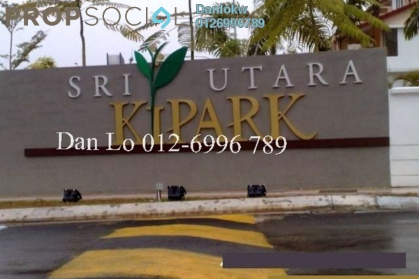 For Sale Semi-Detached at Laman Residen, Jalan Ipoh Leasehold Fully Furnished 5R/5B 1.48m