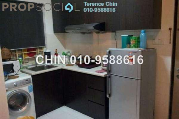 For Rent SoHo/Studio at Ritze Perdana 1, Damansara Perdana Leasehold Fully Furnished 1R/1B 1.4k