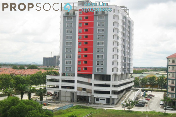 For Rent Condominium at Calisa Residences, Puchong Leasehold Semi Furnished 0R/0B 1k