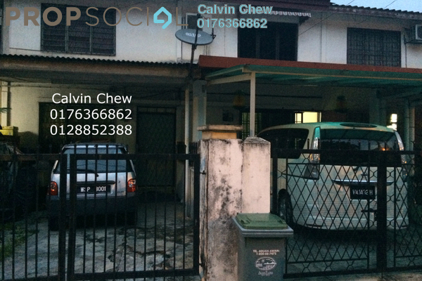 For Sale Terrace at Taman Castlefield, Sungai Besi Leasehold Fully Furnished 2R/1B 450k