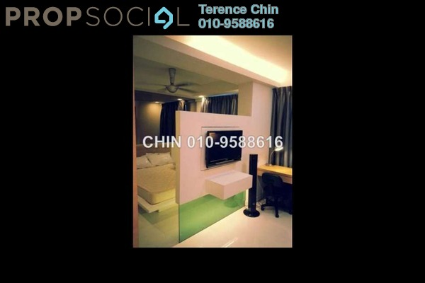 For Rent SoHo/Studio at Ritze Perdana 1, Damansara Perdana Leasehold Fully Furnished 1R/1B 2k