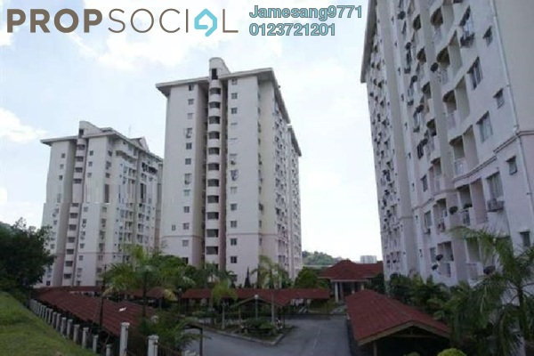 For Sale Condominium at Medan Putra Condominium, Bandar Menjalara Freehold Unfurnished 3R/2B 390k
