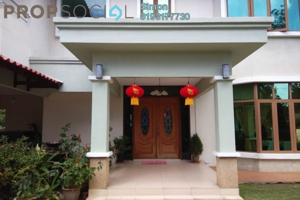 For Sale Bungalow at Sri Suria, Bukit Rimau Freehold Fully Furnished 7R/6B 3.99m