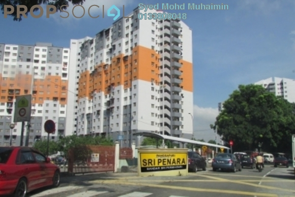 For Sale Apartment at Sri Penara, Bandar Sri Permaisuri Leasehold Unfurnished 3R/2B 190k